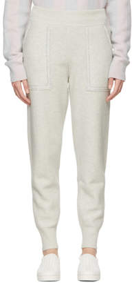 Bottega Veneta Grey Wool Lurex Lounge Pants