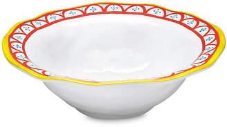 Q Squared Porto Chalé Melamine Serving Bowl - Red