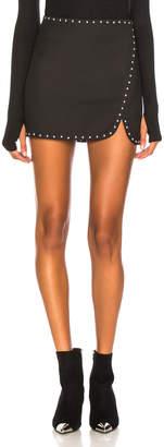 Helmut Lang Studded Mini Skirt