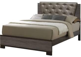 Furniture of America Althea Contemporary Queen Bed, Antique Gray