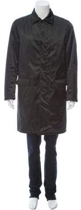 Prada Bonded Down Overcoat