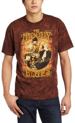 Liquid Blue Men's Moody Blues Vintage Poster T-Shirt