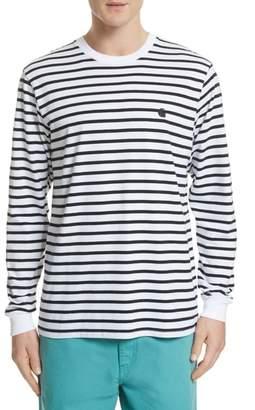Carhartt WORK IN PROGRESS Stripe Long Sleeve T-Shirt