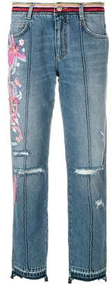 Ermanno Scervino embroidered jeans