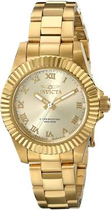Invicta Women's 16762 Pro Diver Analog Display Swiss Quartz Watch