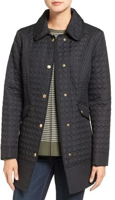 Women's Ellen Tracy Quilted Barn Coat $180 thestylecure.com
