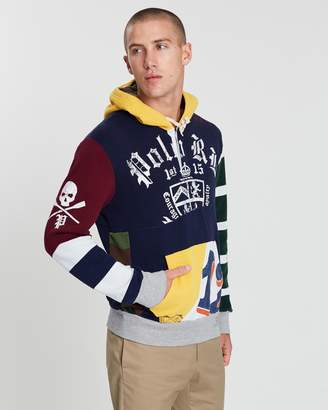 Polo Ralph Lauren Patchwork Rugby Hoodie