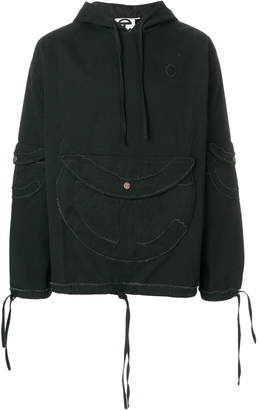 Telfar front pocket hoodie