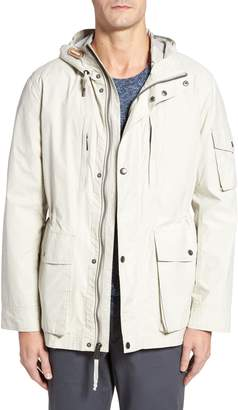 Cole Haan Water Repellent Hooded Jacket