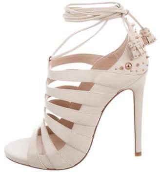 Ruthie Davis Rose Lace-Up Sandals w/ Tags