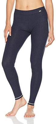 Skiny Women's Loungewear Collection Leggings Lang (Smokey Blue Melange 9966)