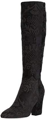 Nine West Women's Shearling Fabric Knee High Boot