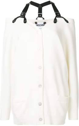 Moschino harness cardigan