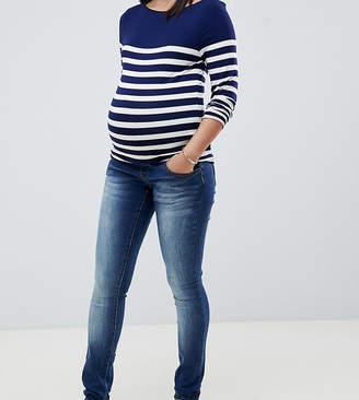 Mama Licious Mama.licious Mamalicious elastic band slim jean