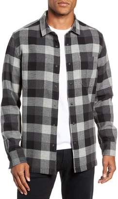 Jeremiah Travis Regular Fit Reversible Flannel Shirt Jacket