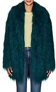MM6 MAISON MARGIELA Women's Faux-Fur Coat - Dk. Green