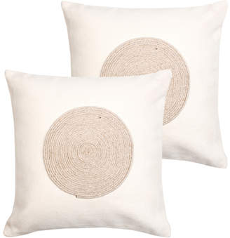 Monsoon And Beyond Traces Embroidered Cushion Covers Set