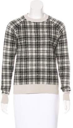 Haute Hippie Plaid Wool Sweater