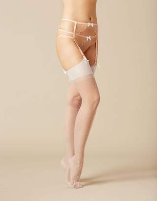 Agent Provocateur Onnix Stocking White
