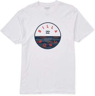 Billabong Men Rotor Fill Graphic T-Shirt