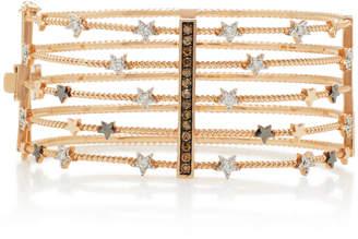 Bee Goddess Sirius Diamond And 14K Gold Cuff