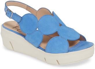 Wonders Platform Sandal