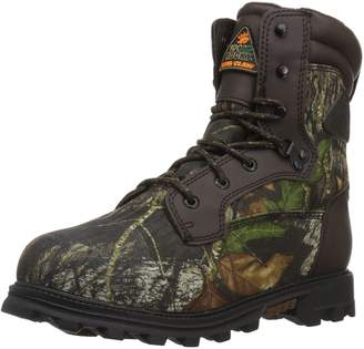 Rocky Outdoor Boots Boys Bearclaw WP 6 WI Youth Mossy Oak FQ0003627