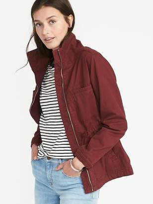 Old Navy Twill Field Jacket for Women