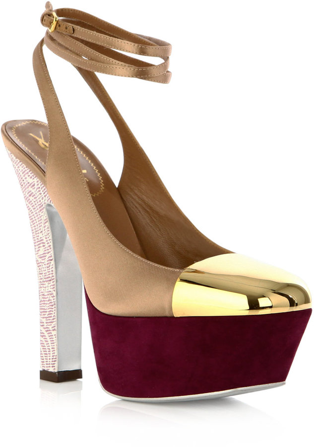 Yves Saint Laurent Obsession shoes