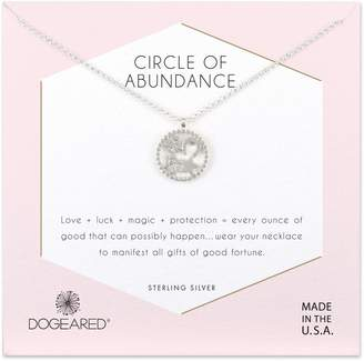 Dogeared Circle of Abundance Necklace