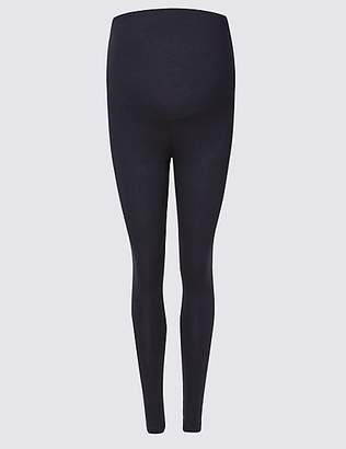 M&S Collection Maternity Cotton Rich Leggings