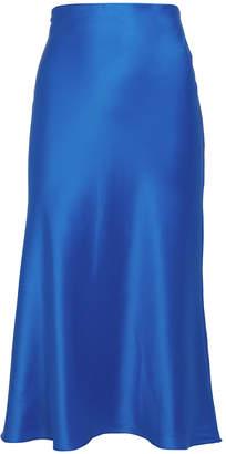 Adriana Iglesias Jadi Silk Slip Skirt