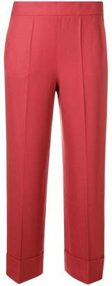 Incotex straight cropped trousers