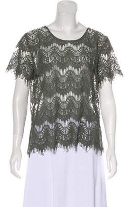 Generation Love Short Sleeve Lace Top w/ Tags