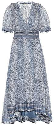 Ulla Johnson Evania printed silk dress