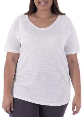 Terra & Sky Women's Plus Size Casual Short Sleeve Tee