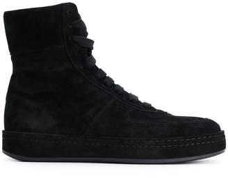 Ann Demeulemeester hi-top lace up sneakers