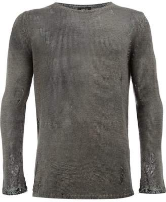 Avant Toi distressed knit jumper