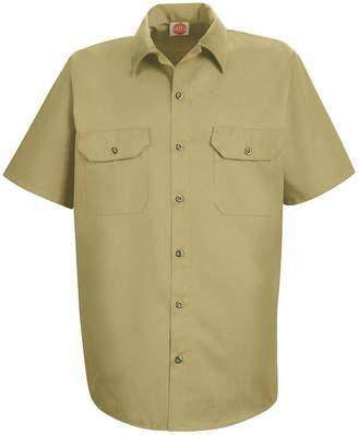 JCPenney Red Kap ST62 Utility Uniform Shirt