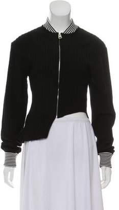 J.W.Anderson Asymmetrical Wool Cardigan