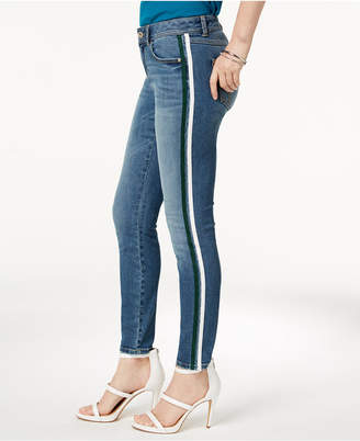 INC International Concepts I.n.c. Striped Skinny Jeans, Created for Macy's