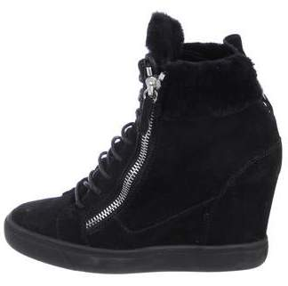 082d5e4384040 Giuseppe Zanotti Wedge Sneakers - ShopStyle