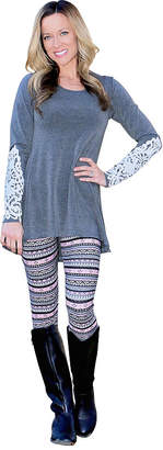 Fashion Fair MAYAH KAY FASHION Mayah Kay Isle Leggings