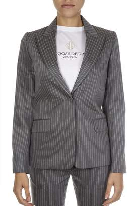 Golden Goose Gray Wool Jacket