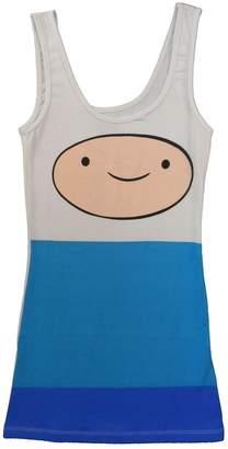 Finn Adventure Time Big Face Junior Tunic Tank Dress