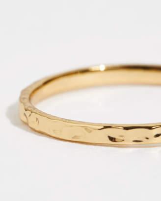 Jigsaw Hammered Ring