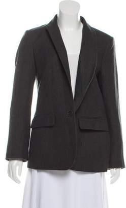 Stella McCartney Notch-Lapel Wool Blazer