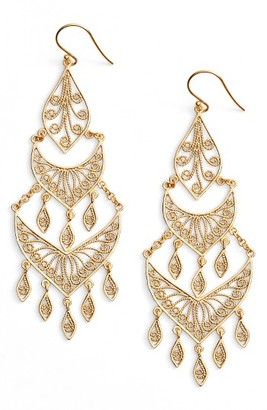 Women's Argento Vivo Chandelier Earrings $98 thestylecure.com