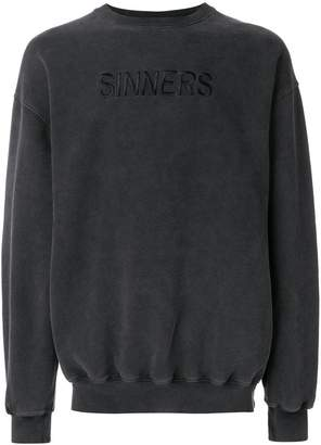 Balenciaga Bal Sinners Oversized Sweater
