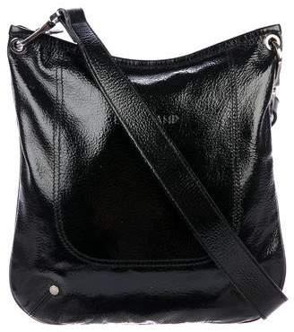 Longchamp Patent Leather Crossbody Bag